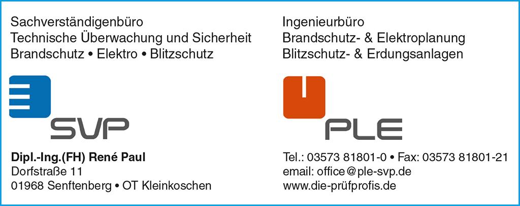 PLE // SVP // Die Prüfprofis