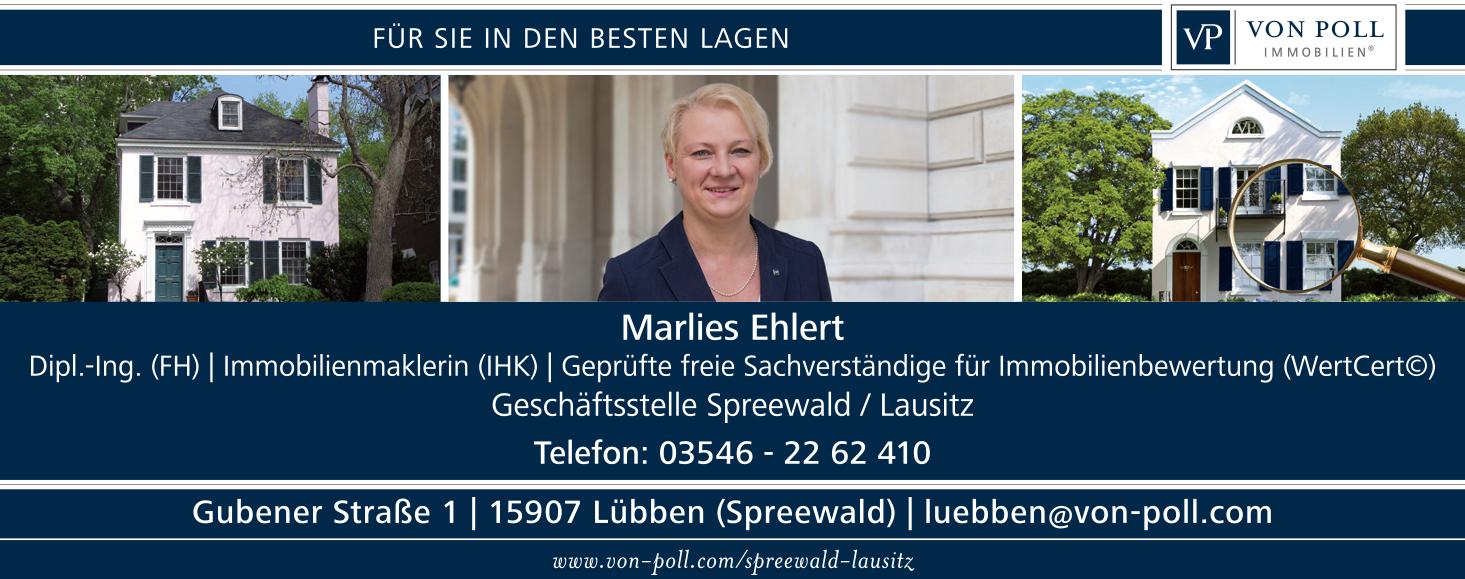 VON POLL IMMOBILIEN – Marlies Ehlert / Geschäftsstelle Lübben