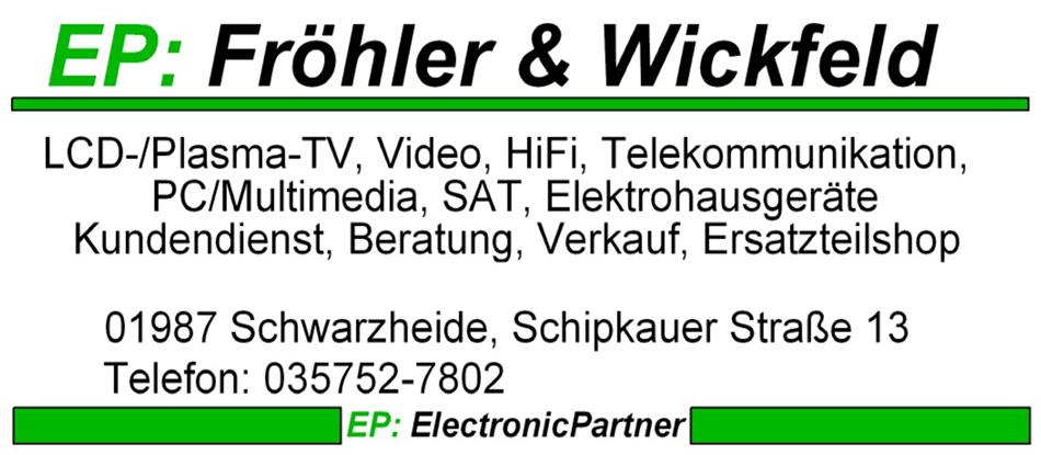 EP: Fröhler & Wickfeld