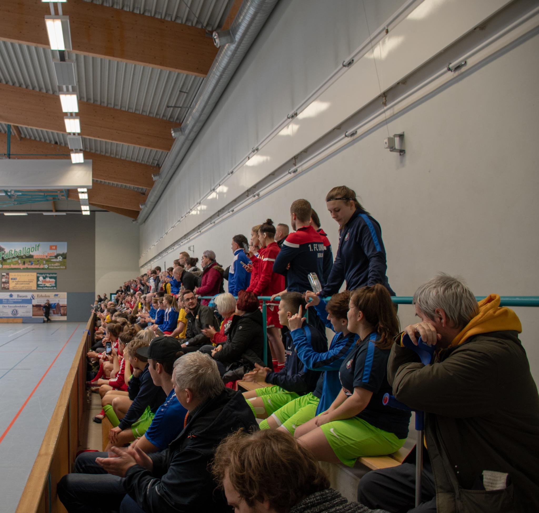 20190113  IDX6239, Frauenfußball, Großkoschen, Seesporthalle, Soccergolf Sachsen, Turnier